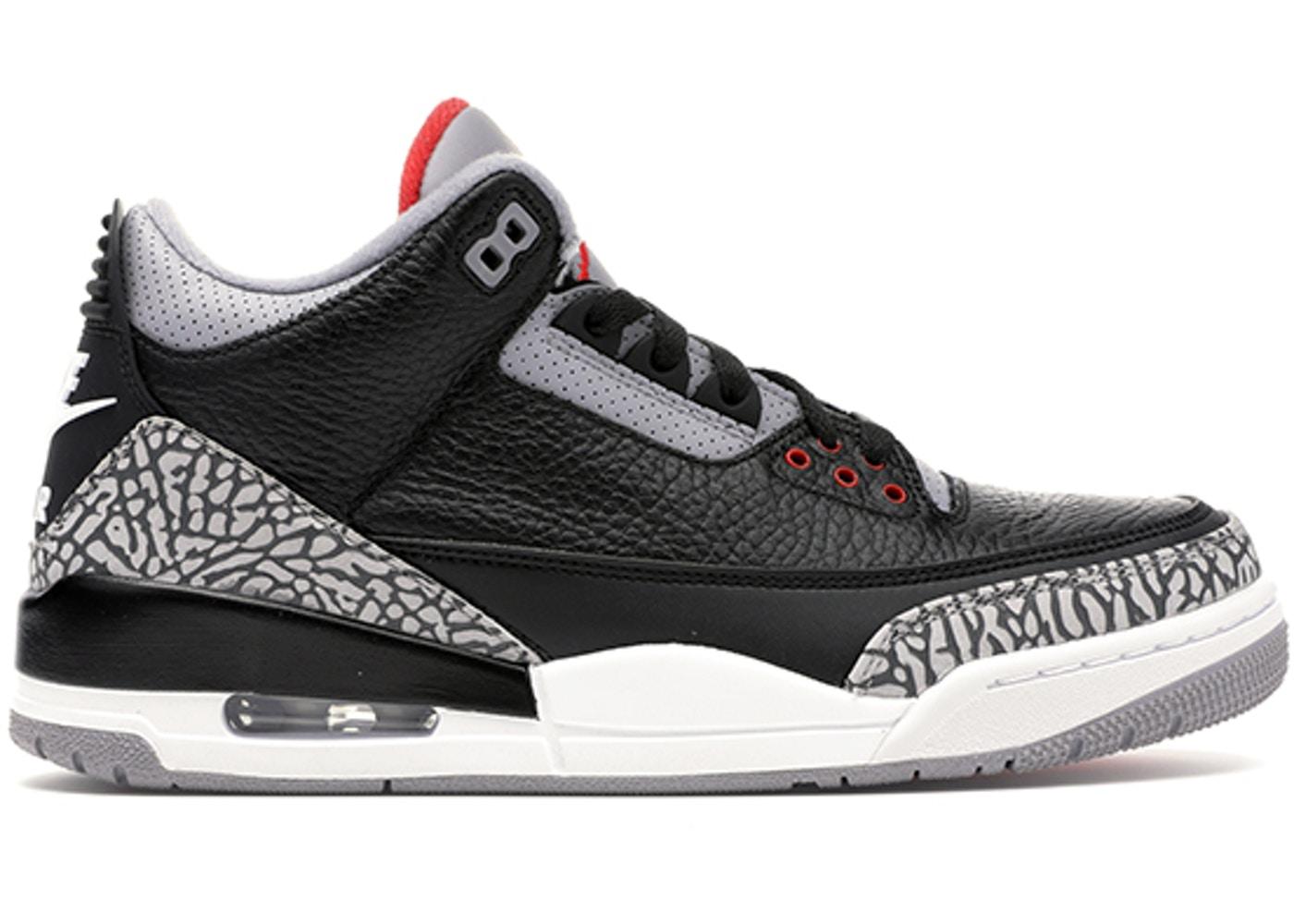 Jordan 3 Retro Black Cement (2018) - 854262-001