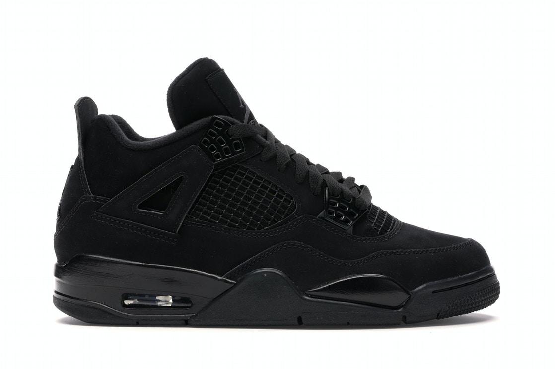 Jordan 4 Retro Black Cat (2020) - CU1110-010